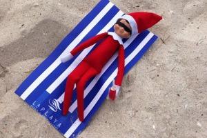 Elf on a shelf LaPlaya Beach & Golf Resort