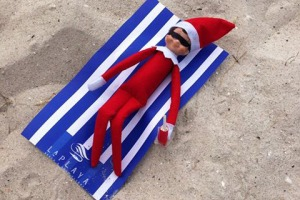 Elf on a shelf LaPlaya Beach & Golf Resort