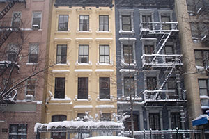 James New York Winter in Soho