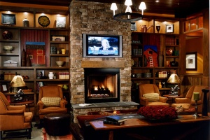 Bear Creek Mountain Resort Fireplace Lounge
