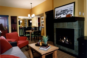 Bear Creek Mountain Resort Suite Living Room