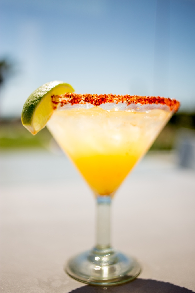 The drink: JRDN's Chili Lime Margarita