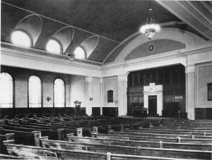 Auditorium, Temple Adath Yeshurun, Syracuse NY