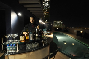 Magnolia Houston Rooftop Pool - Bar