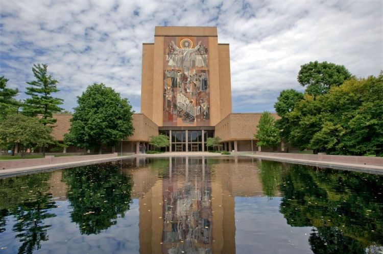 6369008 - hesburgh library of university of notre dame, indiana
